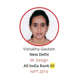 NIFT Rank 1 from BRDS