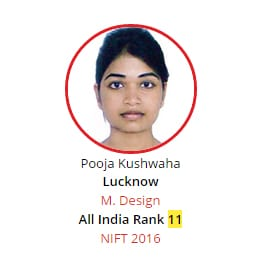 NIFT Rank 11 from BRDS