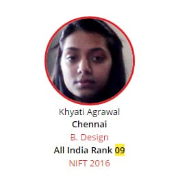 NIFT Rank 9 from BRDS