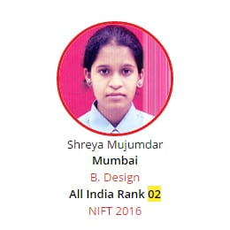 NIFT Rank 2 from BRDS