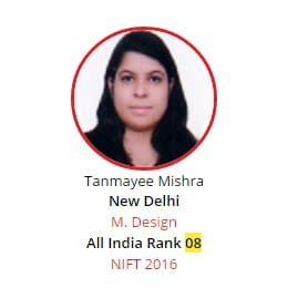 NIFT Rank 8 from BRDS