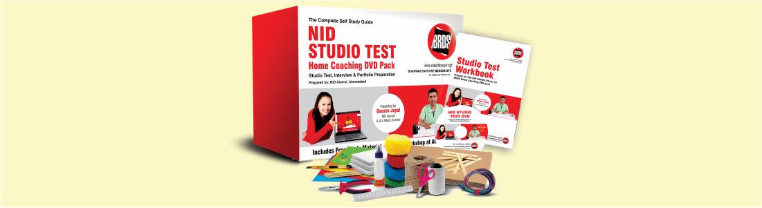 NID Studio Test / NID Portfolio Prepration 2020 ( DVD )