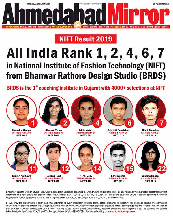 Nift Situation Test 2020 Bhanwar Rathore Design Studio