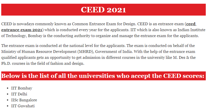 UCEED 2021: Application Form, Exam Date, Pattern, Eligibility, Syllabus, Coaching Centre