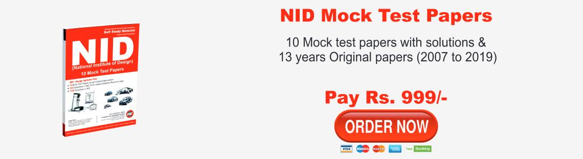 NID ( PG ) Mock Test Series 2020
