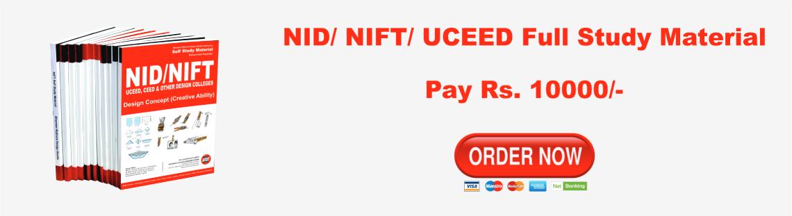 NID / NIFT / UCEED B. Design 2020