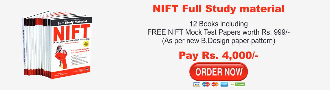 NIFT Full Study Material