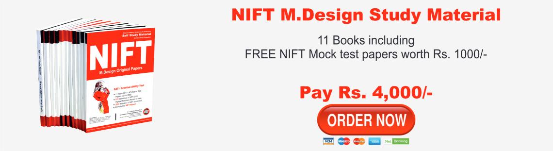 NIFT Test Series 2020