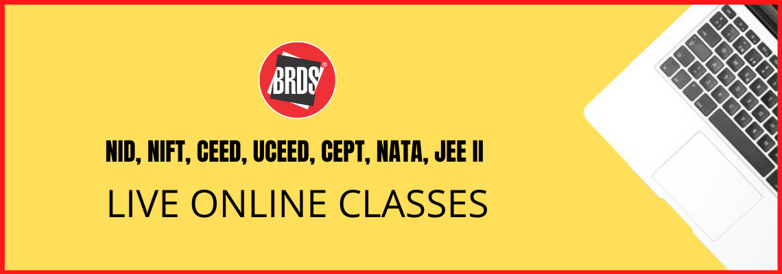 NID, NIFT, CEED, UCEED, CEPT, NATA Live Online Classes